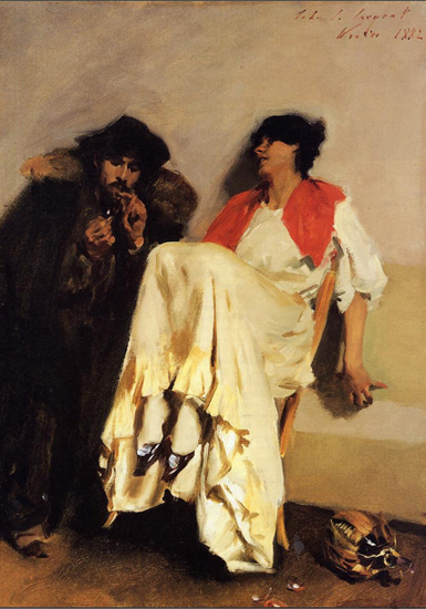 The Sulphur Match by Sargent