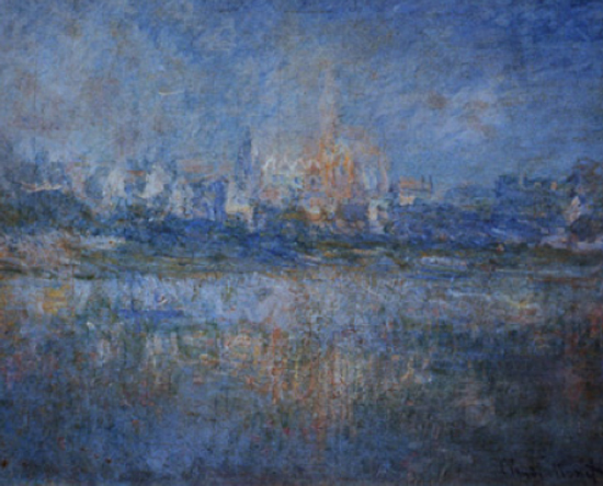 Vetheuil in the Fog by Monet