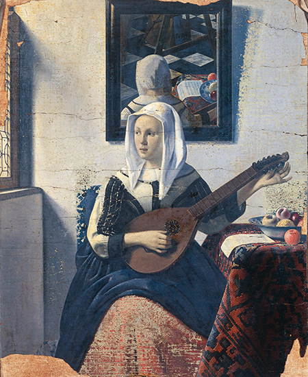 Woman Playing the Lute by Han van Meegeren