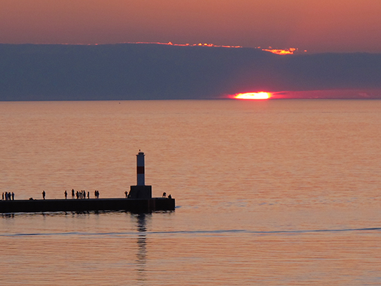 Photo of Lighthouse, Petoskey, Mi.©J. Hulsey