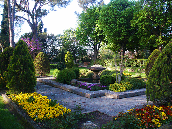 Photograph of Spring Garden in Provence