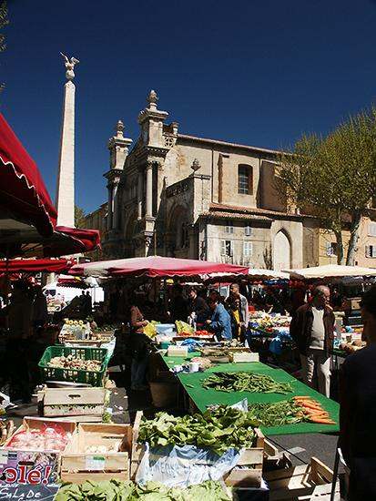 photo of Flea Market, Aix. © J. Hulsey