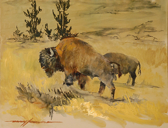 Oil Painting by Nancy Foureman