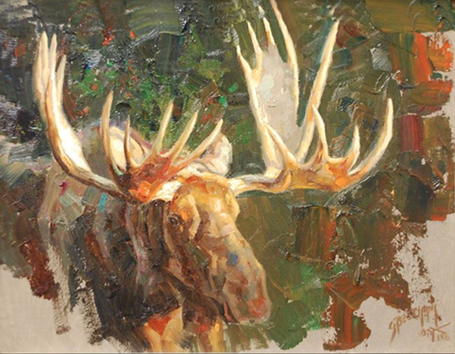Oil Painting by Greg Beecham