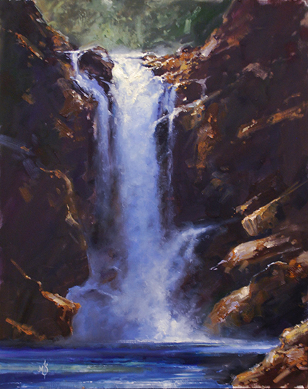 Oil Painting by Mark Kelso