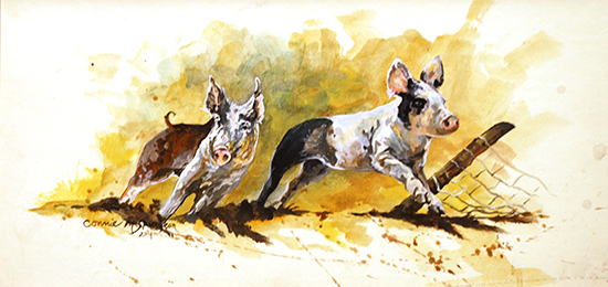 Oil Painting by Connie Spurgeon