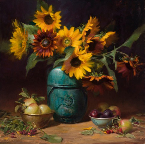 Oil Painting by Elizabeth Robbins