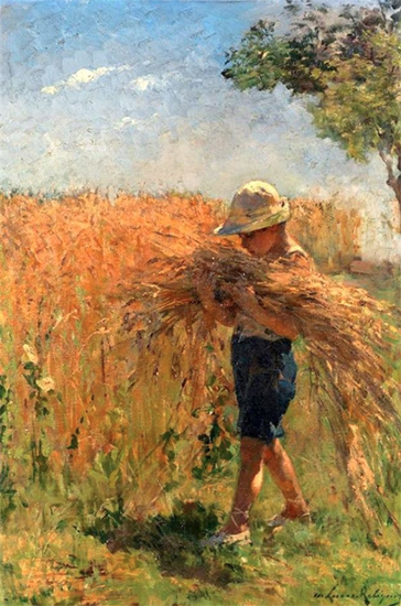 The Gleaner, Marie Lucas Robiquet