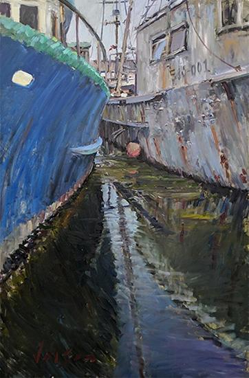 "60 x 40"" Oil Painting © Ryan Jensen"