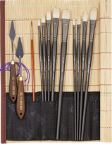 John Hulsey Plein Air Oil Painting Brush Set by Richeson