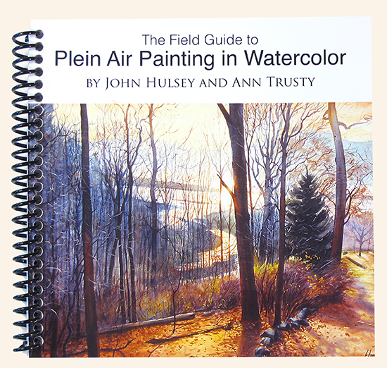 book, The Field Guide to Plein Air Painting in Watercolor