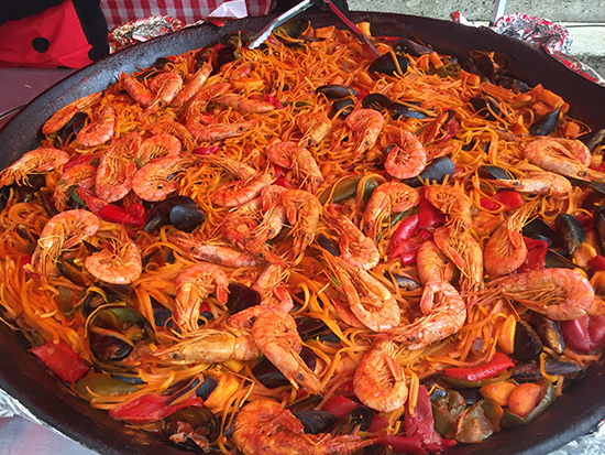 photo of paella.