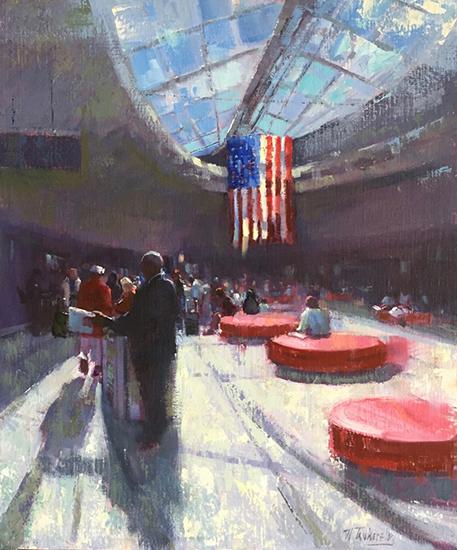 "Oil Painting - Hall of Hopes, 24 x 20"", Oil, © Nancy Tankersley"