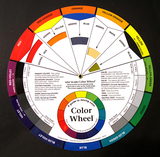 The educated palette excerpt the artist 39 s road for Color wheel chart paint