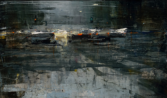 Oil Painting - Lost Illusion, 12 x 20, © Tibor Nagy
