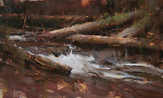 Spring Water, 12 x 20, © Tibor Nagy