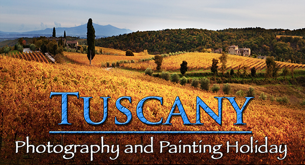 photograph of Tuscany by Robert Copeland