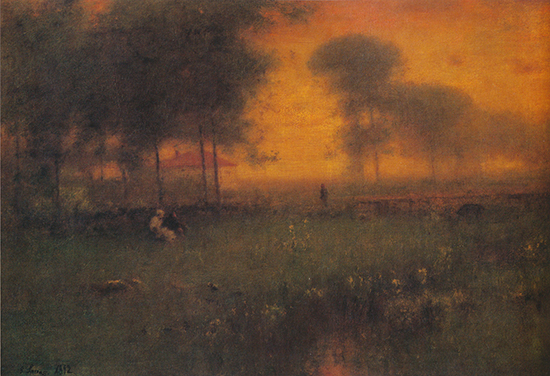Evening Montclair New Jersey George Inness
