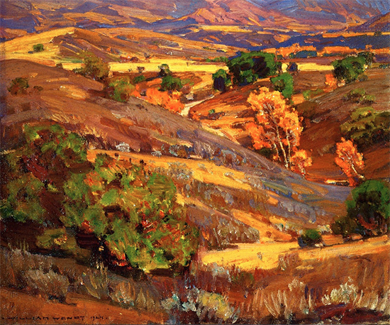 California Gold, 1924, William Wendt