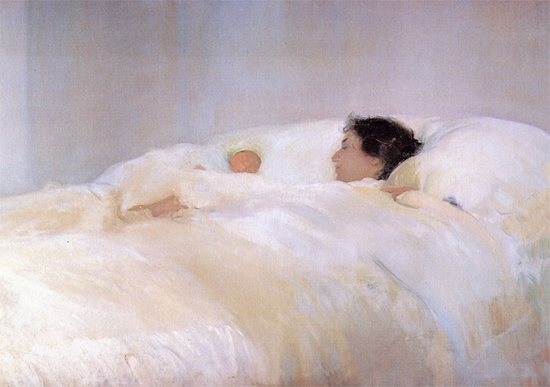 Mother, 1895, Joaquin Sorolla